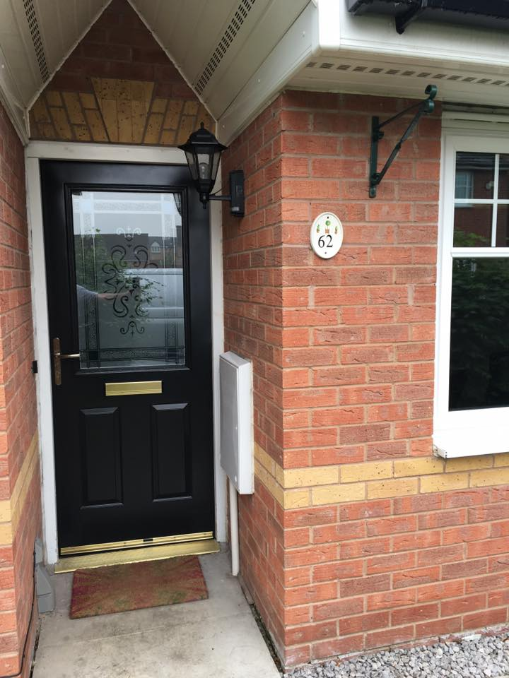 Upvc Doors On Site Spray Painters Cladding Spray