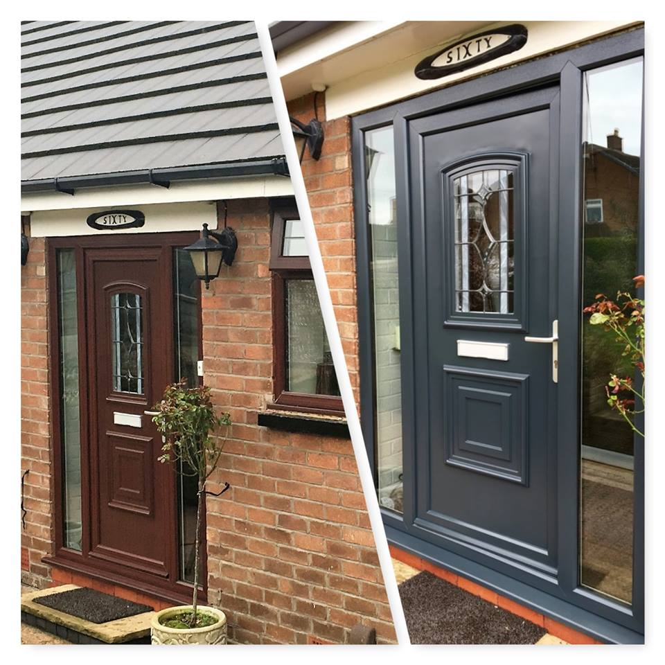 Upvc doors upvc toilet doors for Exterior doors fitted