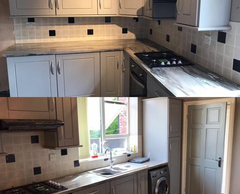 kitchen respray Manchester