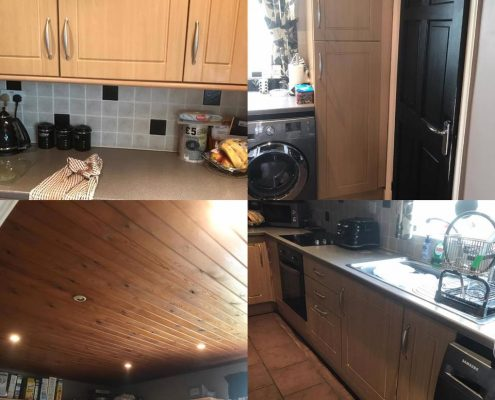 Kitchen respray in Manchester