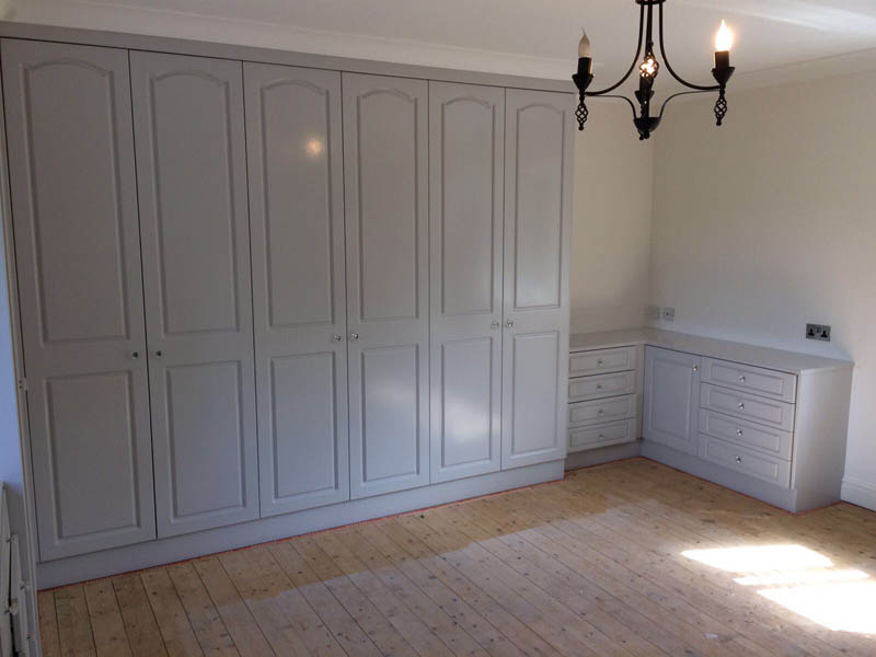 Respray Fitted Wardrobes To Home In Rochdale