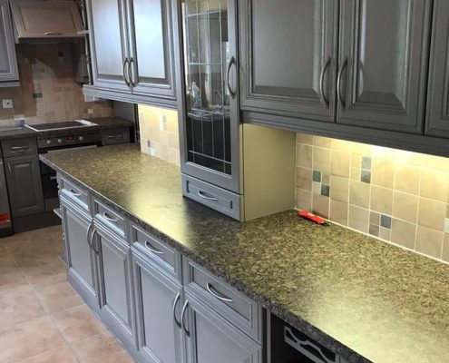 kitchen respray in Scunthorpe
